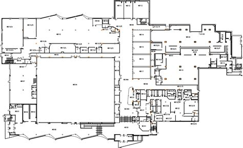 picdun 2 floor 1 map mcmaster david braley athletic centre dbac