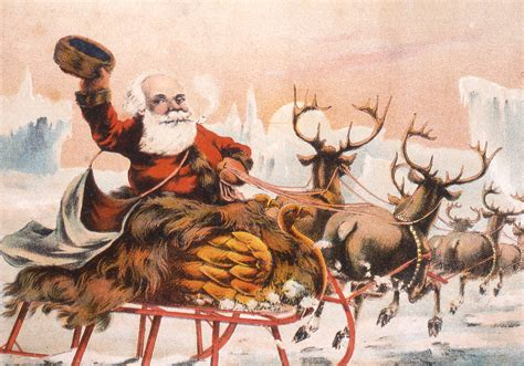 here comes santa claus a visual history of saint nick