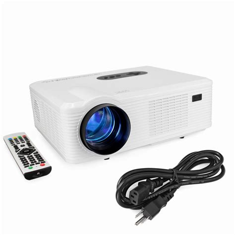 Proyektor Led original excelvan cl720 led projector 3000 lumens 1280 x