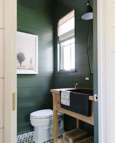 dark green bathroom trend for 2017 dark green powder accent colors and trends
