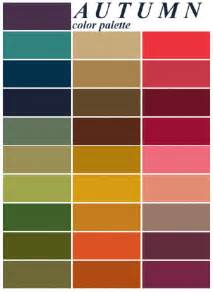 Colors Palette Gallery For Gt Autumn Color Palette Color Me Beautiful