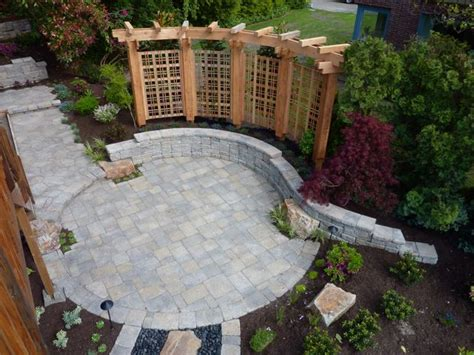 Backyard Ideas With Pavers Backyard Paver Patio Ideas Marceladick