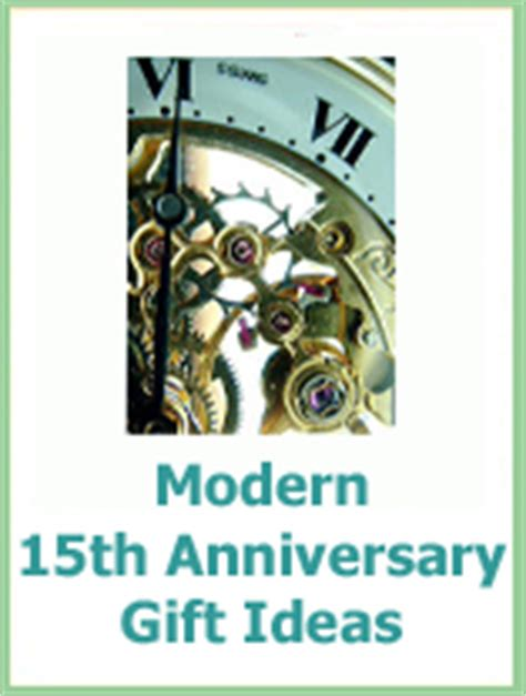 15 year anniversary gift ideas the best 15 year wedding anniversary gift guide
