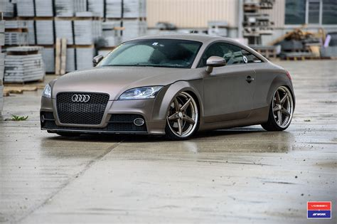 configure your audi beautiful audi tt on new vossen x work vws 3 2 wheels