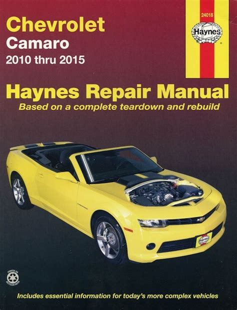 free auto repair manuals 1968 chevrolet camaro electronic toll collection chevrolet camaro repair manual 2010 2015 haynes 24018