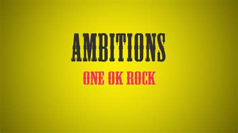 Raglan Ambitions One Ok Rock one ok rock ambitions 2年ぶりアルバム news