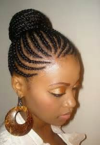 black braids bun hairstyles cute black braided hairstyles