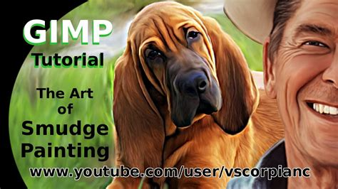 smudge painting tutorial gimp gimp tutorial how to smudge paint any image by