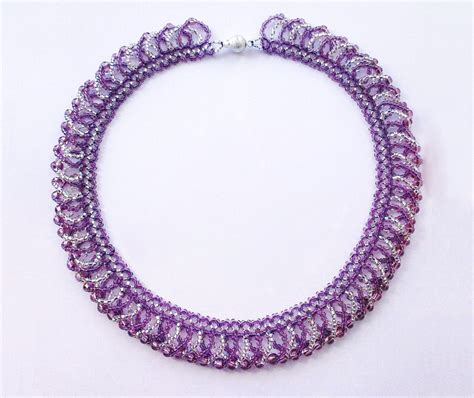 free jewelry patterns free pattern for pretty necklace ireland magic
