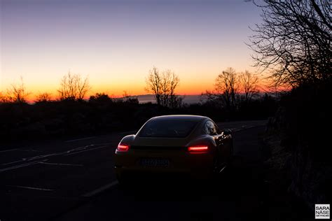 porsche night col de vence one of the best driving roads in france