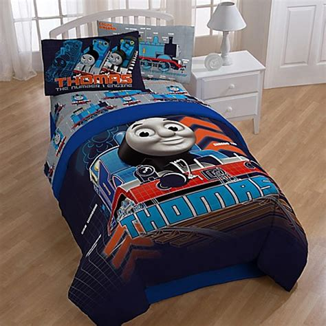 thomas train comforter thomas the train reversible comforter bed bath beyond