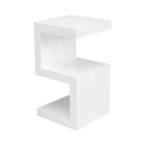 white side table with shelves side table white bedside tables bedside