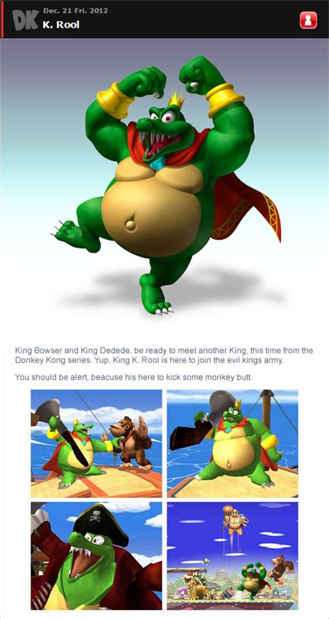 Bros H 31 king k rool in smash bros by romisnalo31 on deviantart