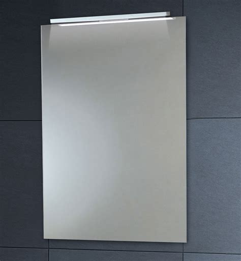 bathroom demister mirrors phoenix down lighter mirror with demister pad 450 x 600mm