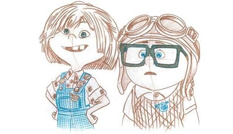 imagenes de up carl y ellie carl and ellie aniversary pinterest disney dibujos