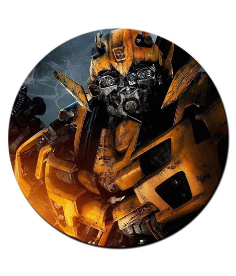 Aksesoris Mobil Logo Transformers Bumblebee shopmantra multicolour transformers bumblebee graphic mousepad buy shopmantra