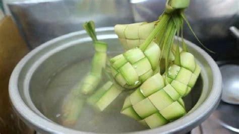 tips memasak ketupat cepat matang tahan   tidak