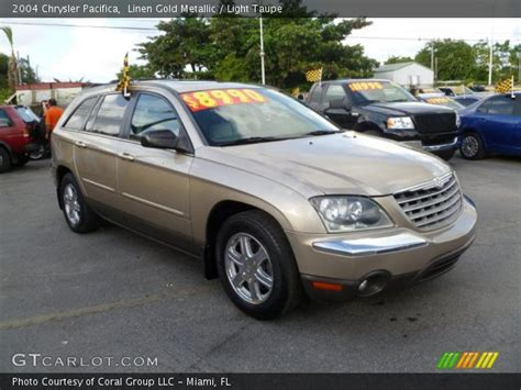 2004 chrysler pacifica light linen gold metallic 2004 chrysler pacifica light taupe