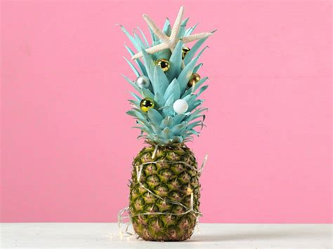 Pineapple Tree Decoration by How To Make A Pineapple Tree Coastal Living
