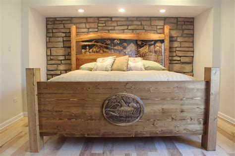 Headboard King Wood by Headboards Custom Headboards Pine Headboard Rustic