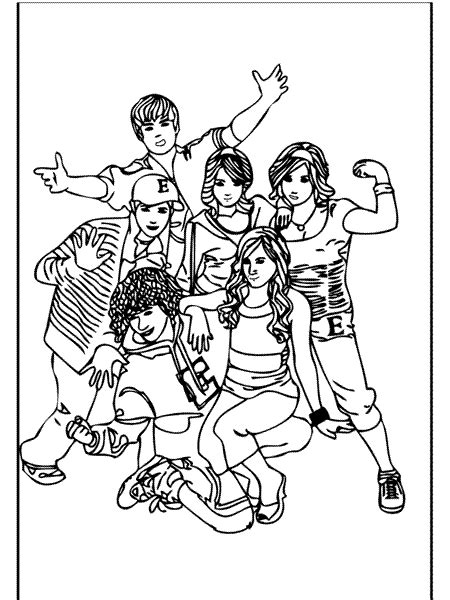 coloring pages for highschool students high school musical coloring pages coloring pages