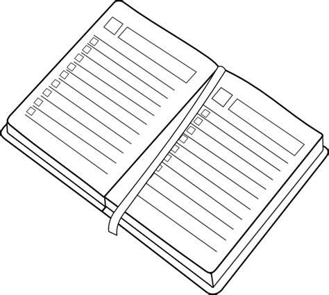 free printable planner art planner clip art at clker com vector clip art online