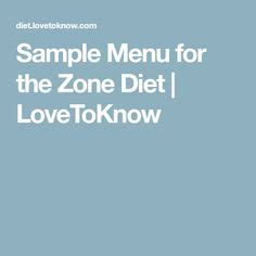 Zone Blocks Chart The Zone Diet Neither Prohibits Nor