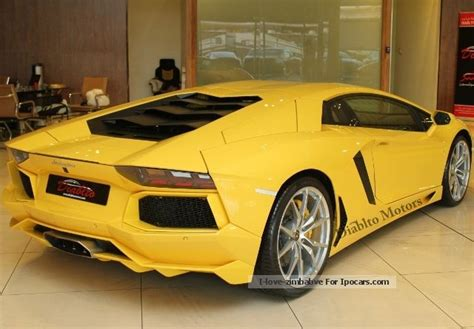 2013 Lamborghini Aventador Horsepower 2013 Lamborghini Aventador Lp 700 4 Car Photo And Specs