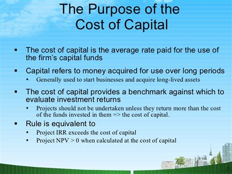 what is the average cost of a 1 bedroom apartment cost of capital ppt bec doms on finance