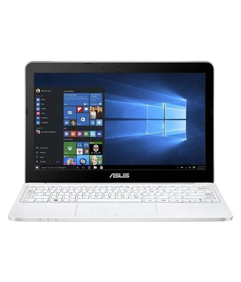 Asus Mini Laptop Flipkart asus e200ha fd0005ts netbook intel atom 2 gb ram 32 gb emmc 29 46cm 11 6 screen windows 10 white
