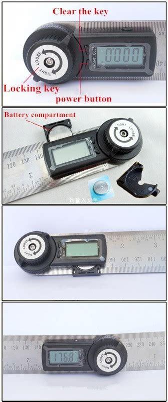 mm digital angle rulergoniometer buy stainless steel