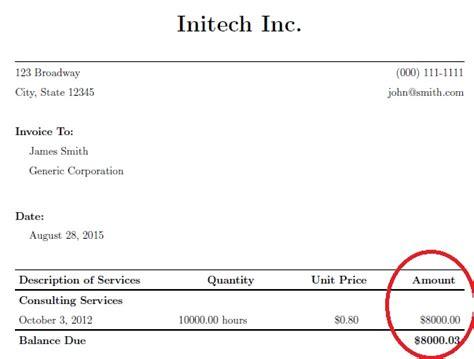 invoice design latex download invoice template latex rabitah net