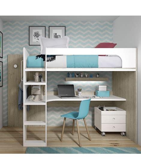 escritorio litera litera con escritorio