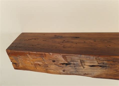 978 48 Quot X 6 25 Quot D X 5 Quot H Reclaimed Floating Wood Shelf Distressed Wood Floating Shelves