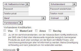 meine advanzia bank advanzia bank mastercard gold kreditkarte im test