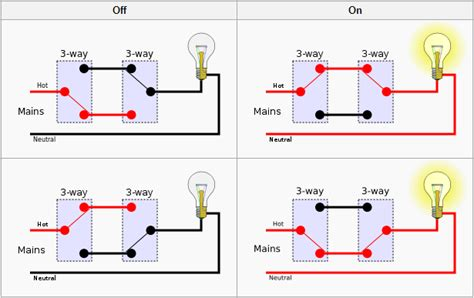 cool 3 way switch wiring diagram variations images