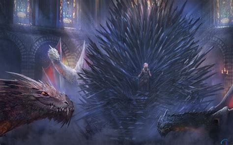 wallpaper 3d game of thrones download wallpaper iron throne and dragons game of