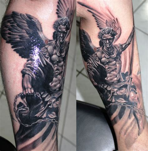 angel gabriel tattoo archangel by proki on deviantart