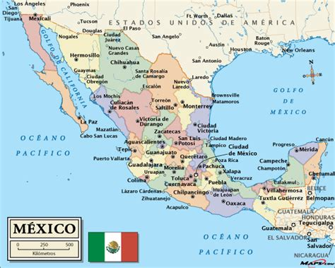 united states map with cities in spanish mexico the voluntourist