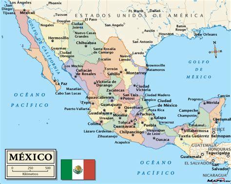 map of mexoco mexico the voluntourist