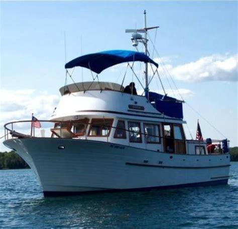 Albin 36 Aft Cabin Trawler by Albin 36 Trawler 1980 Used Boat For Sale In Mackinaw City