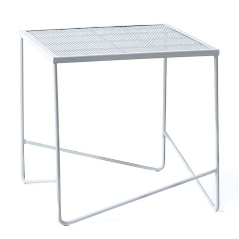 White Outdoor Side Table by Home Republic Adelphi Outdoor Side Table White
