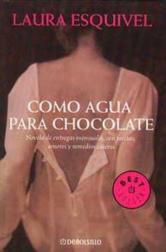 libro como agua para chocolate suzumiya of the rebellion julio 2012