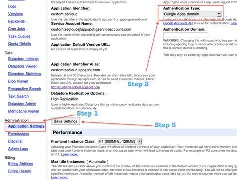 create app engine app   google apps  custom
