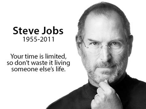 life of steve jobs in short helpful quotes about living life everyday snappy pixels