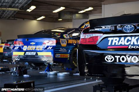 Nascar Garage by Daytona Prep Snooping Around A Nascar Garage Speedhunters