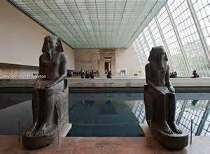 Metropolitan Museum Of Art Interior Egyptian Temple Of Dendur At Metropolitan Museum Of Art In