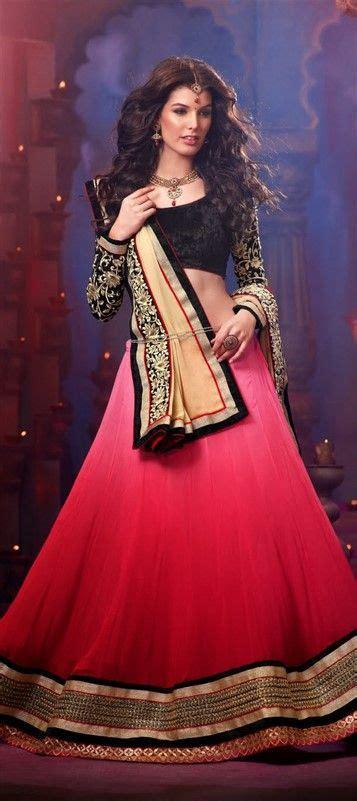 Dress Arabic Bordir Maroon 128533 mehendi sangeet lehenga georgette velvet border thread and maroon pink and