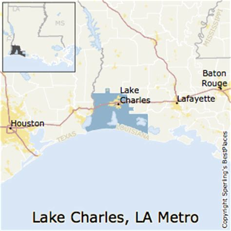 louisiana real estate map best places to live in lake charles metro area louisiana