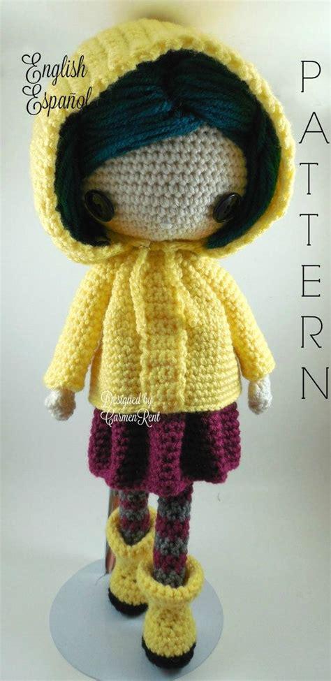 pinterest pattern doll coraline amigurumi doll crochet pattern pdf by carmenrent